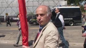 Roberto Vallocchia, eletto segretario della Federazione romana del Partito dei Comunisti Italiani