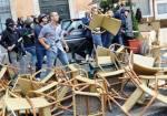 Roma, provocatori fascisti all'opera (ansa)