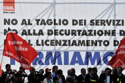 manifestazione statali a Roma
