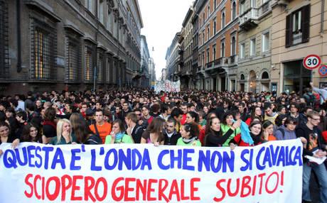 studenti per lo sciopero