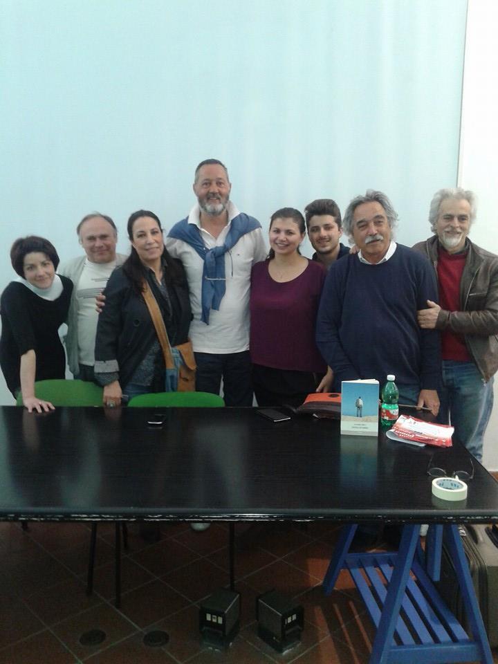 Alcuni partecipanti la presentazione. Riconoscibile affianco ad Alessandro Corbelli, l'assessore di Albano, Alessandra Zeppieri.