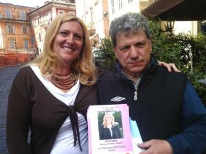 Eleonora Di Giulio, capogruppo UCS e Enrico Iozzi, consigliere UCS
