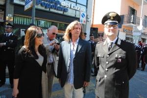 L'Assessore Arianna Esposito e il consigliere PD Sergio Ambrogiani