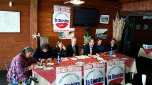 Presentazione lista La Sinistra per le regionali di Calabria (insieme Pdci, Sel movimenti etc.)