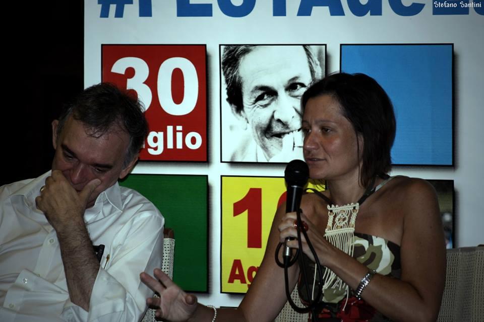 Enrico Rossi, pres. Regione Toscana, e Lucia Mango, segretario PCd'I Toscana