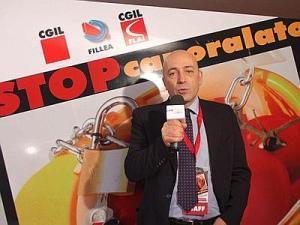 Walter Schiavella, Fillea-Cgil