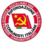 Il simbolo della lista comunista
