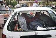 L'auto presa di mira dai militari italiani in cui è morta la tredicenne afghana