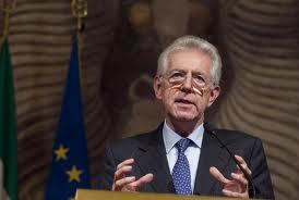 Mario Monti, presidente del consiglio