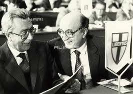Arnaldo Forlani e Ciriaco De Mita
