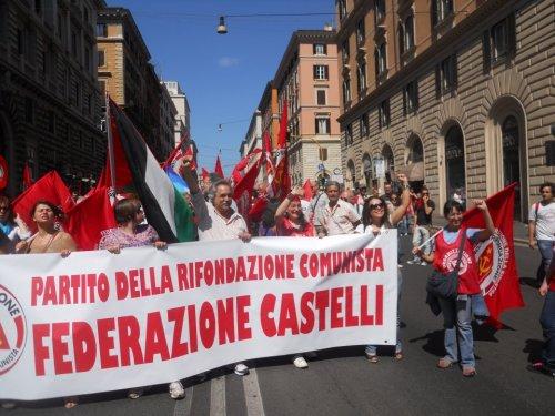 i comunisti dei Castelli romani