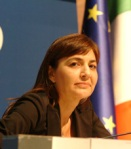 Renata Polverini, presidente Regione Lazio: nota a Marino per l'atterraggio in elicottero durante la campagna elettorale pro-Palozzi e pro-Ospedale!