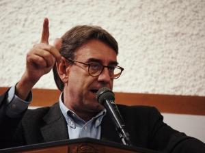 Oliviero Diliberto, segretario Federazione della Sinistra-Pdci