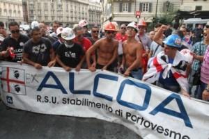 lotta per il distretto del Sulcis