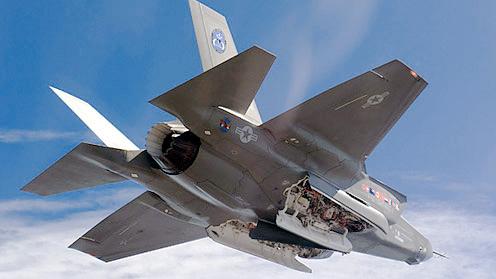 il bombardiere F35