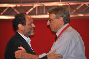 Antonio Ingroia ed Oliviero Diliberto