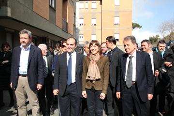 Marino. Una delle numerose passeggiate elettorali