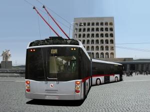 Uno degli autobus prodotti dalla BredaMenarinibus
