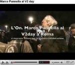 Pannella al Vday di Grillo