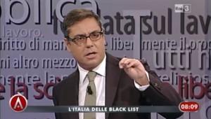 Andrea Vianello, conduttore di Agorà