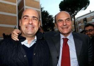 Zingaretti e Bersani