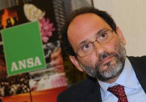 Antonio Ingroia all'Ansa per il Forum