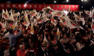 La chiusura di campagna elettorale a Roma al Gran Teatro