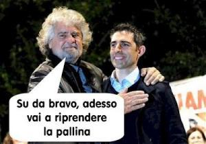 Grillo e Pizzarotti, prima del voto, dileggiati dagli avversari sul web