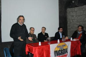 (da sinistra) Maurizio Aversa, Ugo Onorati, Maurizio Spezzano, Fabio Nobile e Marco Bizzoni