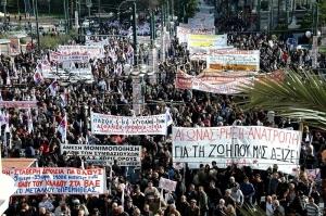 manifestazione a Cipro