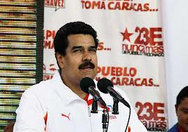 Il vicepresidente del Venezuela, Nicola Maduro