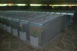 L'interno del Mausoleo dell Fosse Ardeatine