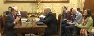Consultazioni. Bersani incontra M5S