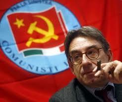 Oliviero Diliberto, segretario del Parito dei Comunisti Italiani