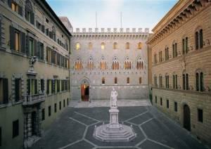 Piazzetta Salimbeni, sede MPS, Siena