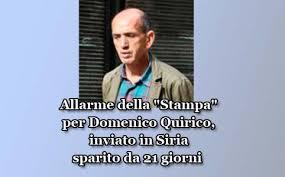 """Domenico Quirico, inviato de """"La Stampa"""""""