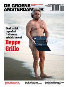 Beppe Grillo in copertina