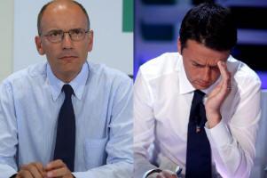 Enrico Letta, Presidente del Consiglio dei Ministri e Matteo Renzi, Sindaco di Firenze