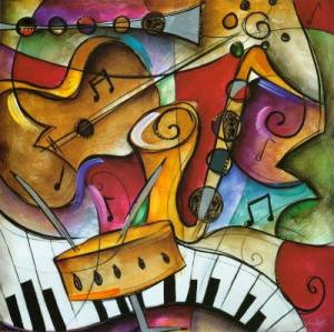 Il logo dell'evento: Festa della Musica
