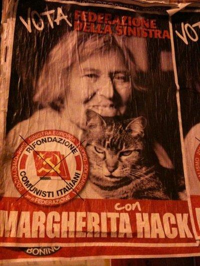 Margherita Hack una donna in lotta, una comunista