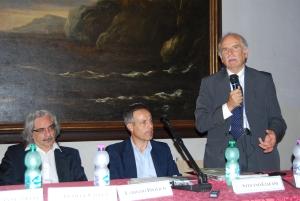 Emilio Cianfanelli, sindaco di Ariccia, interviene al convegno