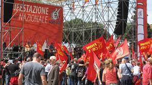 manifestazione nazionale Fiom