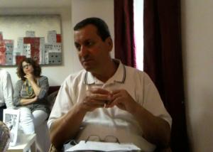 Sandro Caracci, già consigliere comunale è intervenuto in Conferenza Stampa Sel Pdci sulla vergognosa vicenda del cimitero di Mazzamagna a Marino