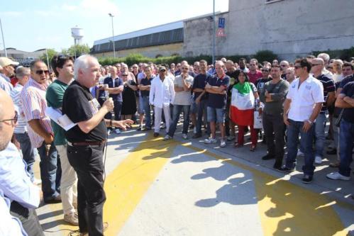 Riva Acciaio. Protesta operaia a Verona