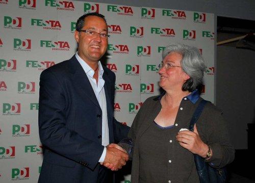 Alessandro Corbelli e Rosi Bindi