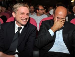 Gianni Cuperlo e Pierluigi Bersani