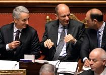 Quagliarello, Letta e Alfano: il nuovo Governo