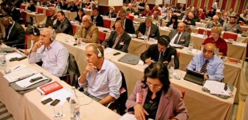 l'assemblea plenaria dell'internazionale comunista in Portogallo