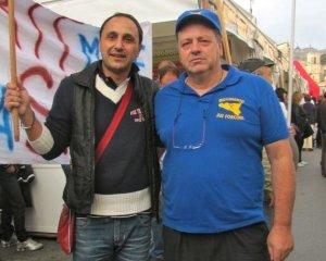 Mariano Ferro dei Forconi, accreditato di rapporti con Forza nuova il cui leader catanese Bonanno ha guidato la rivolta 9dicembre a Catania