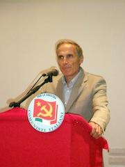 Cesare Procaccini, segretario P C d'I